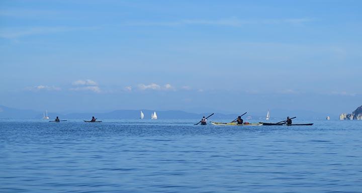 Kayak all'Isola d'Elba